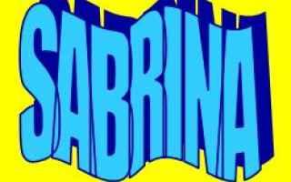 sabrina  significato  etimologia