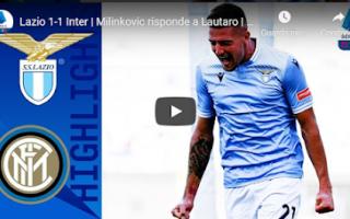 Serie A: roma lazio inter video calcio gol