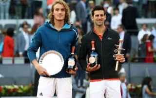 Tennis: djokovic  tsitsipas  roland garros