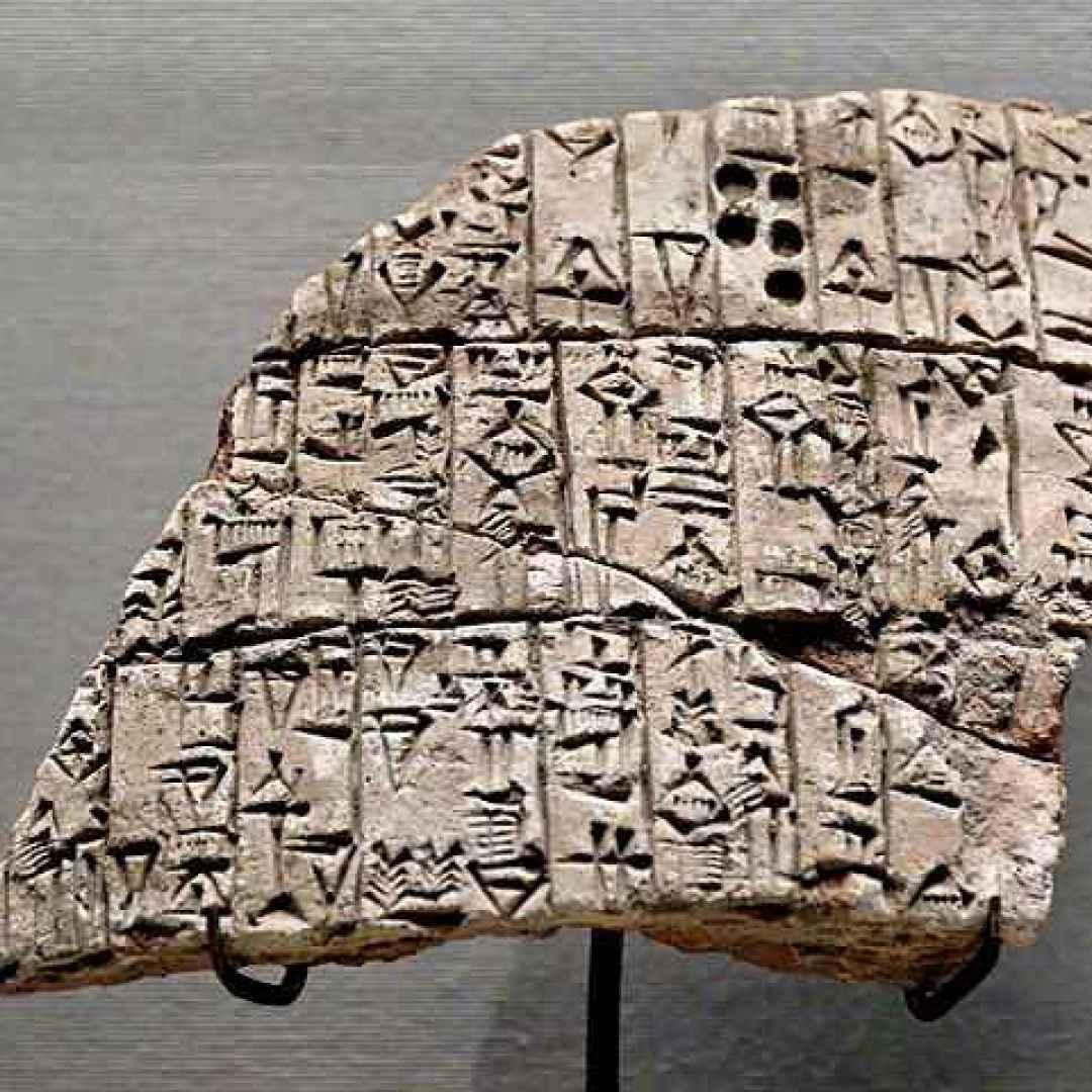 miti  storia  sumeri  tavoletta sumera