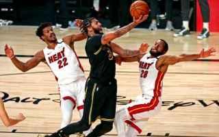 Basket: lakers  heat nba finals