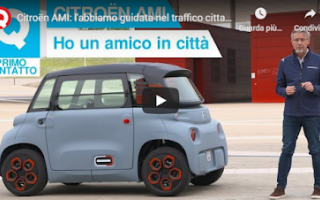 Motori: prova video auto elettrica motori