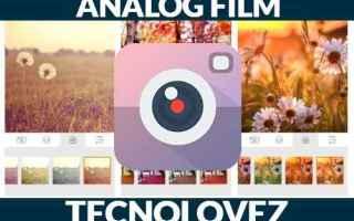 analog film  applicazione per editare