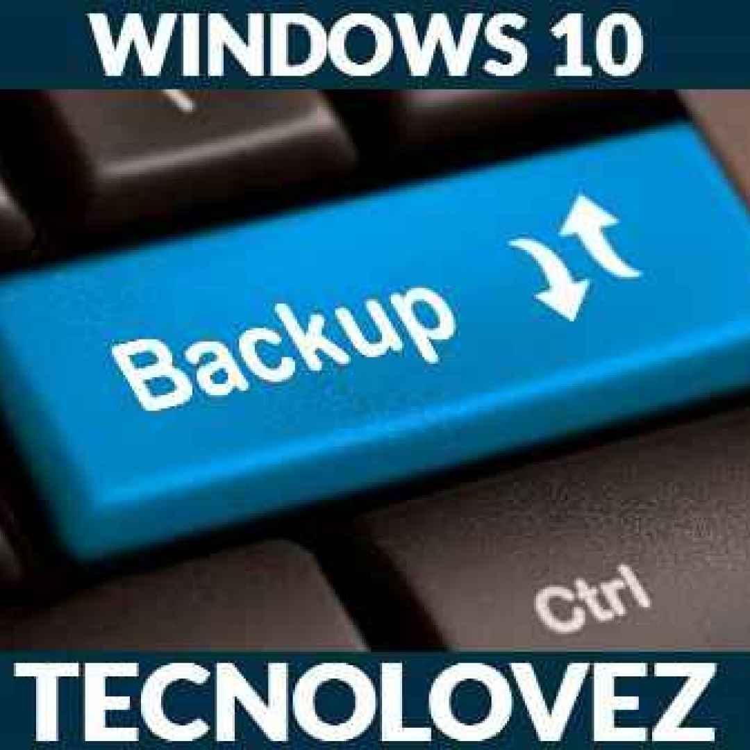 windows 10 backup programmati