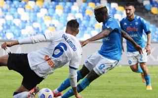 Serie A: napoli  atalanta