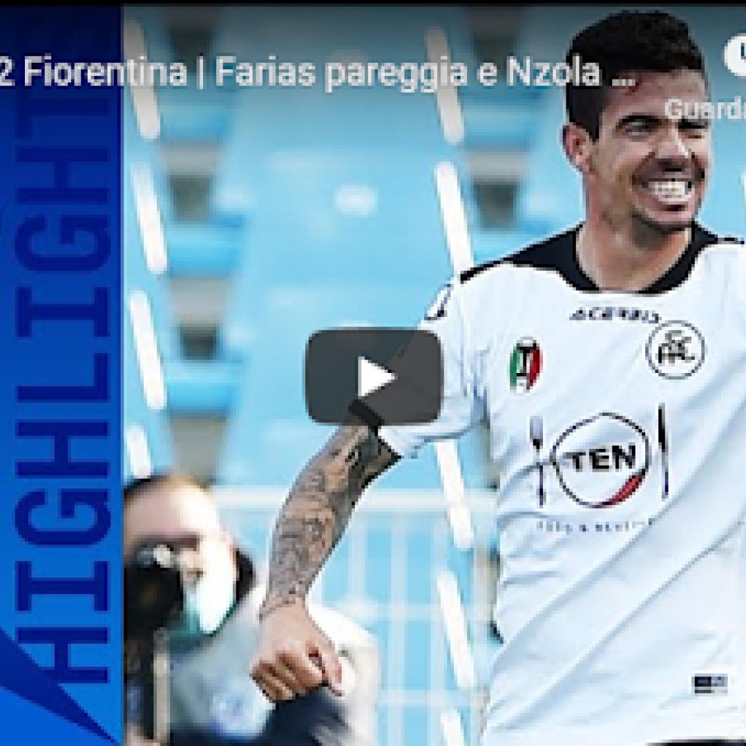 spezia fiorentina video gol calcio