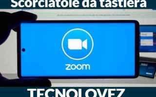 Internet: zoom lista comandi scorciatoie