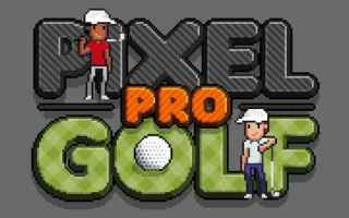 Mobile games: golf pixel art iphone videogioco arcade