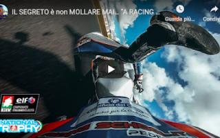 Motori: moto motori salvadori video pilota