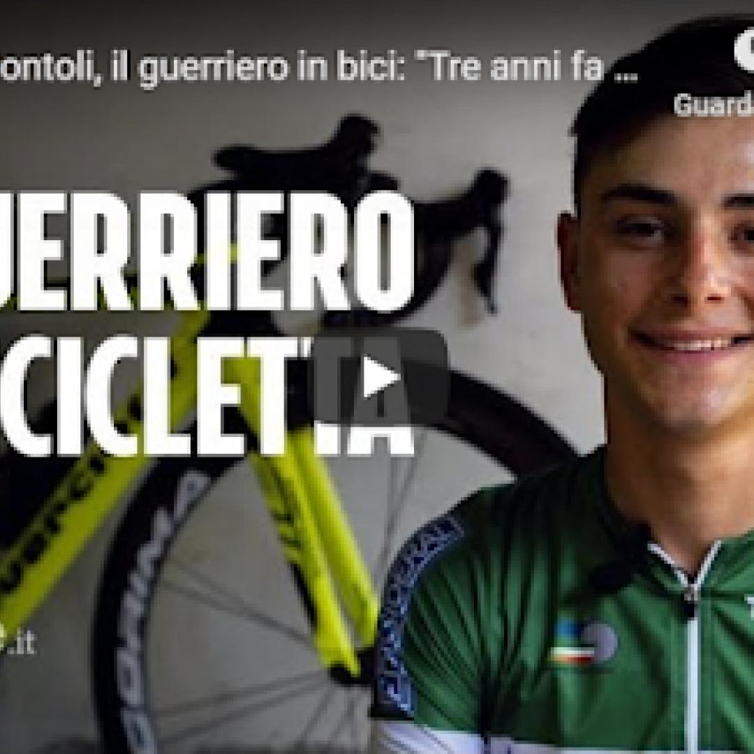 sport ciclismo campione italia video