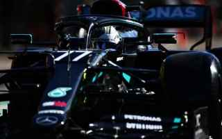 Al termine delle prime due sessioni di prove libere del Gran Premio del Portogallo, Valtteri Bottas