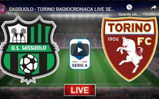 Serie A: reggio emilia sassuolo torino video