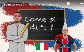 Calcio Estero: parigi psg verratti florenzi video