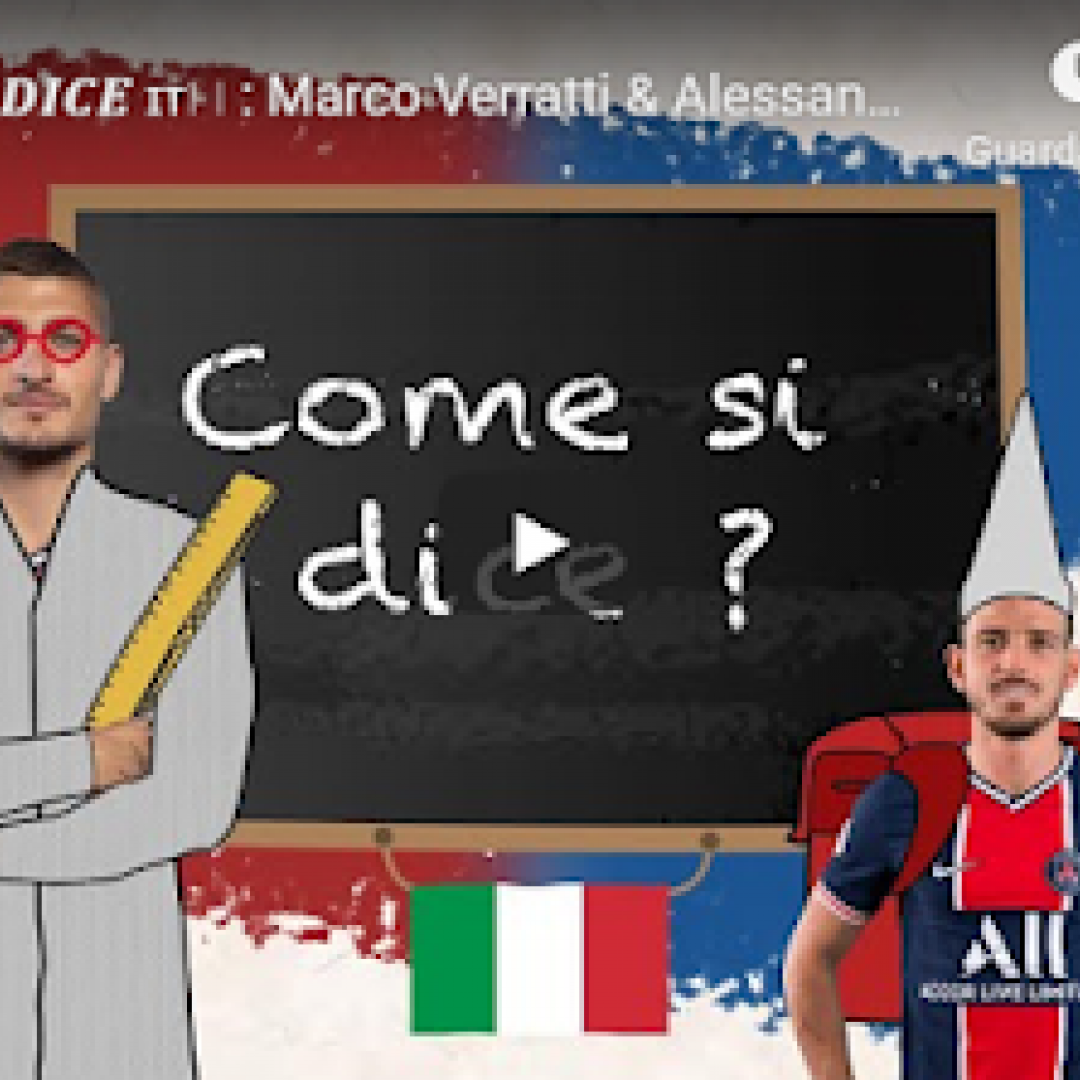 parigi psg verratti florenzi video