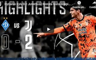 Champions League: kiev juventus video calcio champions gol