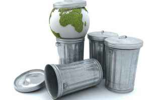 Lavoro: rifiuti  imballaggi
