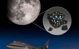 Astronomia: luna  acqua  sofia  nasa