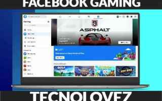 Giochi: facebook gaming cloud gaming