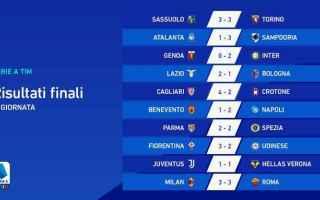Nella quinta giornata di Serie A, nel monday night la Roma impedisce al Milan di andare in fuga, con