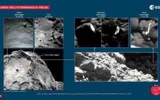 Astronomia: comete  rosetta  philae
