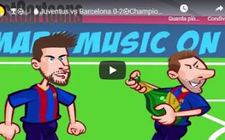 Champions League: juve juventus barcellona video calcio