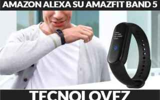 amazon alexa   amazfit band 5