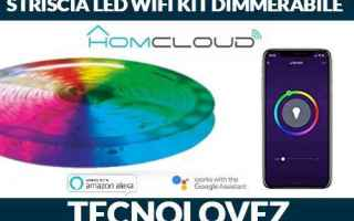 homcloud striscia led wi-fi kit