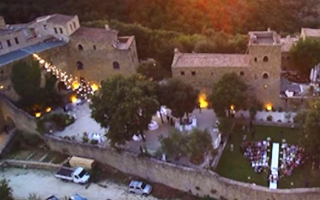 Viaggi: castello rosciano  fantasmi  umbria