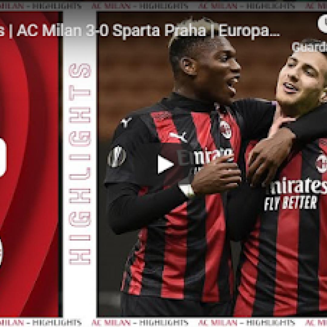 milano milan europa gol calcio video