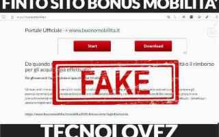 Internet: fake truffa bonus mobilità  finto sito