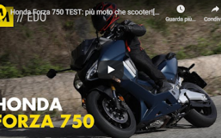 Motori: motori video honda scooter test moto