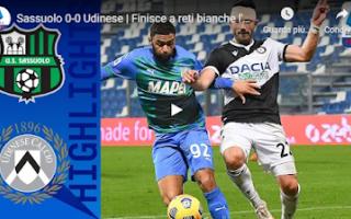 Serie A: reggio emilia sassuolo udinese calcio