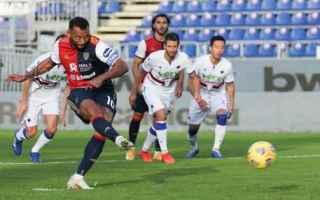 Serie A: cagliari  sampdoria