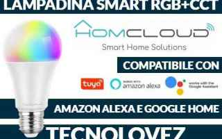 Internet: homcloud lampadina smart wifi