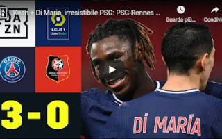 Calcio Estero: parigi psg rennes video calcio gol