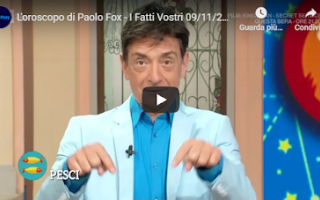 Astrologia: rai video oroscopo paolo fox tv