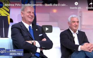 Calcio: juventus juve calcio video pirlo parodia