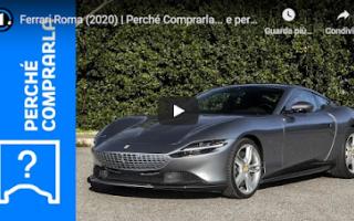 Motori: magnifica auto video motori ferrari