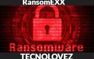 Sicurezza: ransomexx ransomware