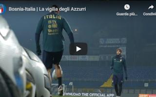 Nazionale: sarajevo bosnia italia video calcio