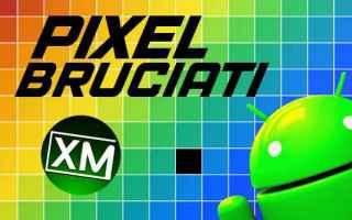 Tecnologie: pixel android schermo test app blog
