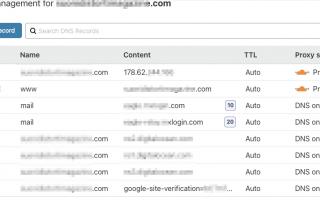 Webmaster: Record DNS di un dominio, cosa sono e come funzionano