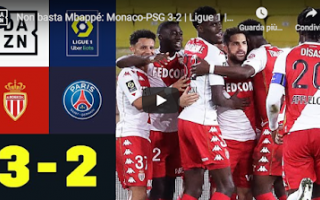Calcio Estero: monaco psg video calcio francia gol