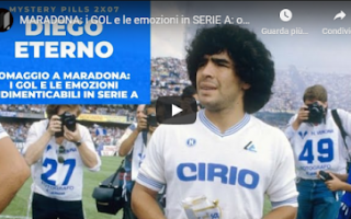 rip diego maradona video calcio sport