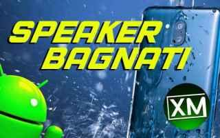 Tecnologie: speaker acqua smartphone android app