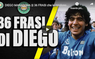 Calcio: rip diego maradona video calcio sport