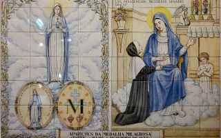 medaglia miracolosa  santa caterina