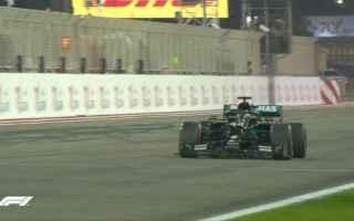 Al termine delle Q3, Lewis Hamilton domina le qualifiche, ed è il poleman del Gran Premio del Bahra