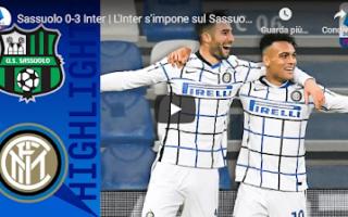 Serie A: reggio emilia sassuolo juventus video