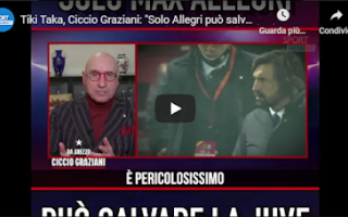 tv video calcio juve juventus allegri